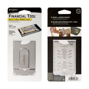 Financial Tool Money Clip - Stainless