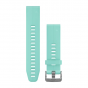 QuickFit 20 Watch Band Frost Blue Silicone